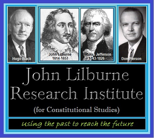 <small><br>© 2015 by John Lilburne Research Institute <i>(for Constitutional Studies)</i></small>